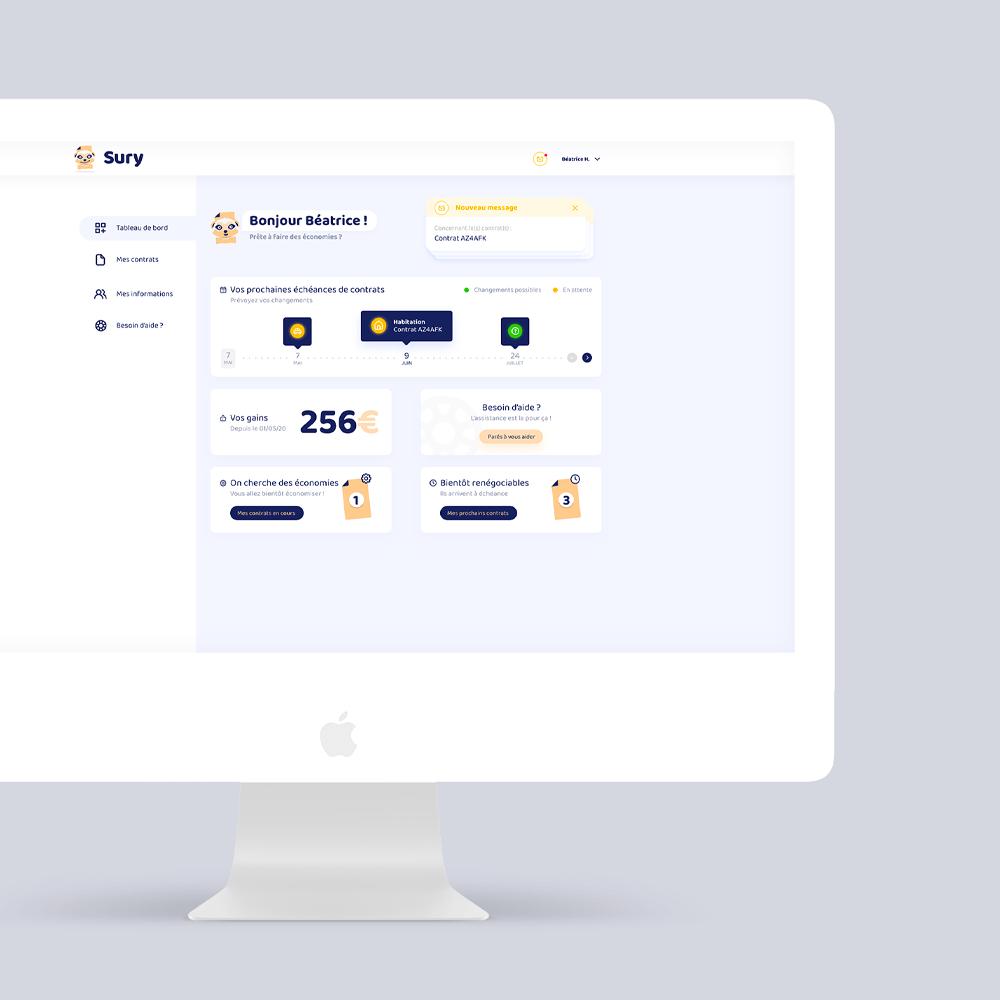 webdesign sury coach assurance