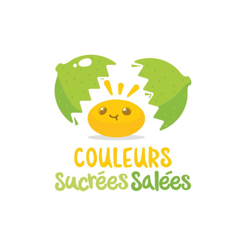 logo couleurs sucrées salées