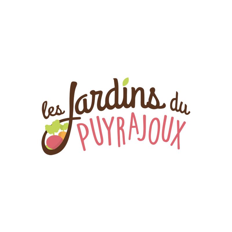 logo les jardins du puyrajoux
