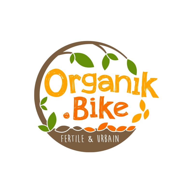 logo organik bike